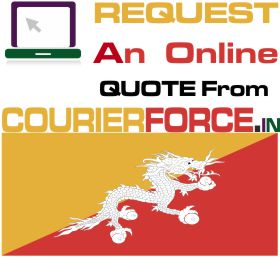 courier charges for bhutan