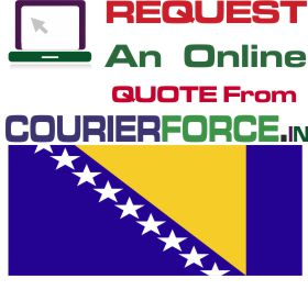 courier charges for bosnia
