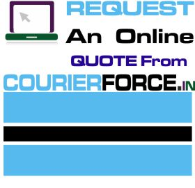courier charges for botswana