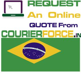 courier charges for brazil