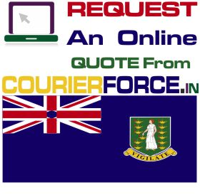 courier charges for british virgin island
