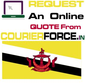 courier charges for brunei