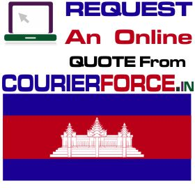 courier charges for cambodia