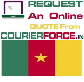courier charges for cameroon