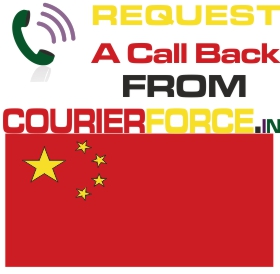 courier charges from india to china