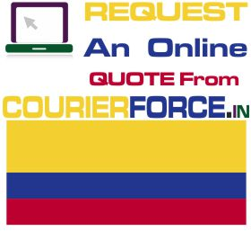 courier charges for coloambia