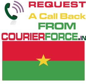 courier from burkina faso