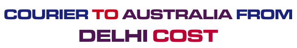 courier to Australia from Delhi cost