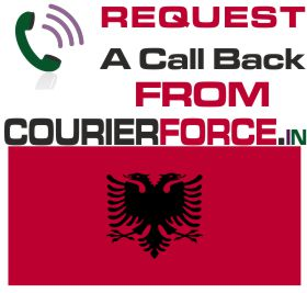 courier to albania
