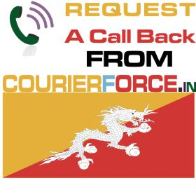 courier to bhutan