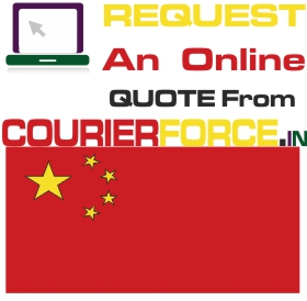 courier to china from chennai