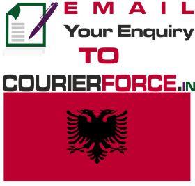 parcel to albania