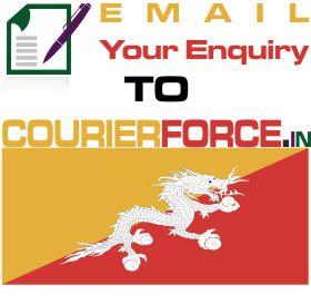 parcel to bhutan