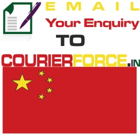 parcel to china from chennai
